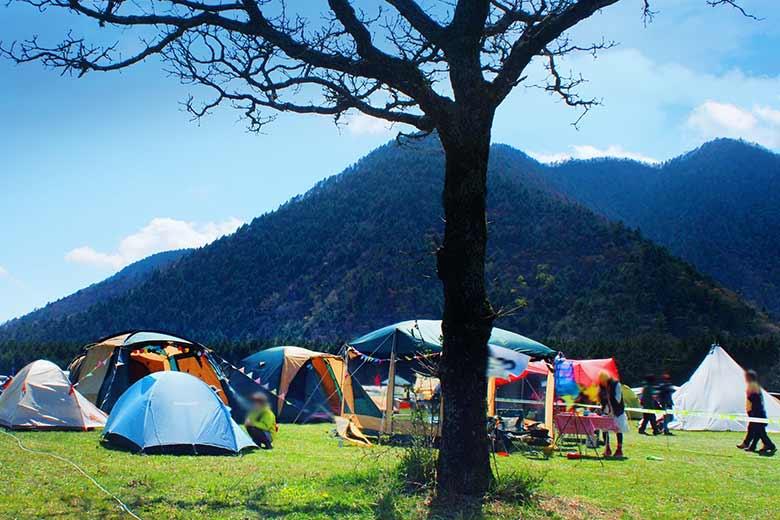 キャンプ生活