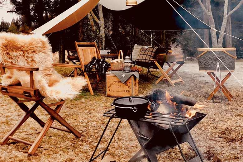 キャンプの楽しみ方